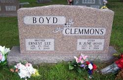 B. June <I>Boyd</I> Clemmons