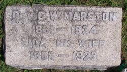Rev George William Marston