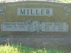 Charlene <I>Counts</I> Miller