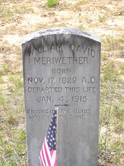 William David Meriwether