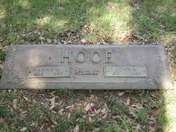 Anne Lorriane <I>Hart</I> Hooe