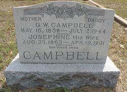 Sarah Josephine <I>Sullivan</I> Campbell