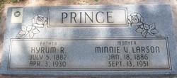 Minnie Viola <I>Larson</I> Prince
