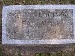 Georgia Nell <I>Goodenow</I> Freeman