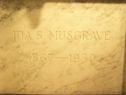 Ida Sabilla <I>Seed</I> Musgrave