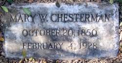 """Mary Washington """"Mollie"""" <I>Bolton</I> Chesterman"""