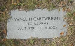 Vance H Cartwright