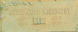 Notie <I>Cope</I> Abernathy