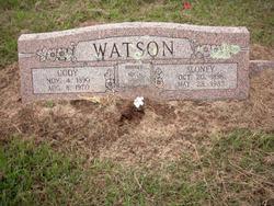 """Mary Sloney """"Sonie"""" <I>White</I> Watson"""