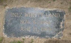 Inez <I>Whitty</I> Land