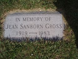 Jeannette <I>Sanborn</I> Gross