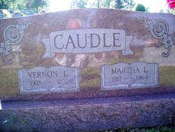 Martha Louella <I>Gann</I> Caudle