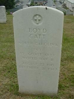 PVT Boyd Catt