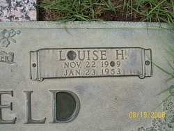 Louise Henrietta <I>Schmidt</I> Barfield