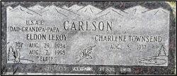 """Eldon LeRoy """"Eldie"""" Carlson"""