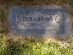 Edith Ann <I>Holt</I> Jennings