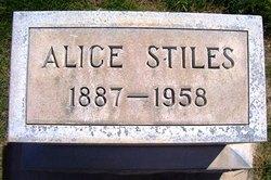 Mary Alice <I>Nanney</I> Stiles