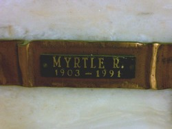 Myrtle R. Atwater