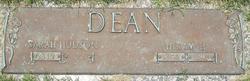 Sarah <I>Hudson</I> Dean