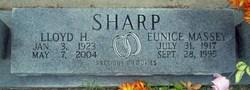 Eunice May <I>Massey</I> Sharp