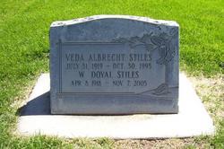 Veda <I>Albrecht</I> Stiles
