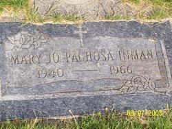 Mary Josephine <I>Pachosa</I> Inman