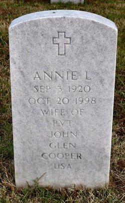 Annie L Cooper