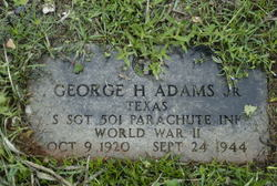 George Hubbard Adams, Jr