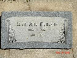 Eliza <I>Bate</I> Meneray