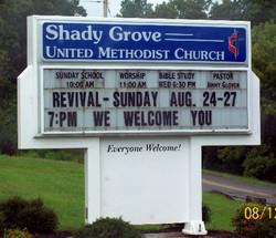 Shady Grove  United Methodist Cemetery