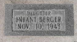 Infant Daughter Berger