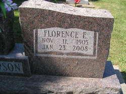 Florence E. <I>Johnson</I> Anderson