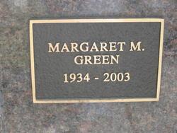 Margaret Mary <I>Smith</I> Green