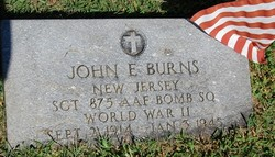 SGT John E Burns