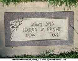 Harry Watson Frame