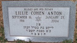 Lillie <I>Cohen</I> Anton