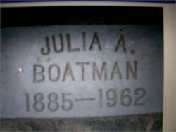 Julia Ann <I>Barton</I> Boatman
