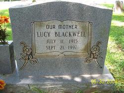 Lucy Lee <I>Merry</I> Blackwell