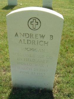 Andrew B Aldrich