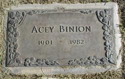 """Asa """"Acey"""" Binion"""