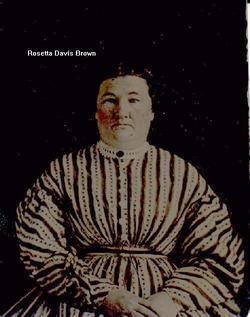 Rosetta <I>Davis</I> Brown