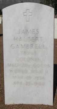 Col James Halbert Gambrell