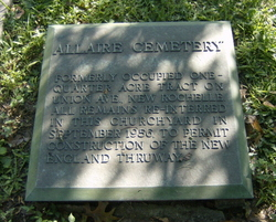 Allaire Family Cemetery