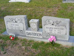 Mildred Jo <I>Whitesides</I> Davidson