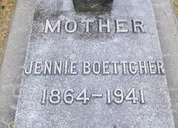 Jennie <I>Adamson</I> Boettcher