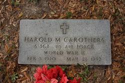 Harold M Carothers