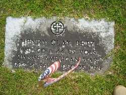 Pvt Henry Clay Betz