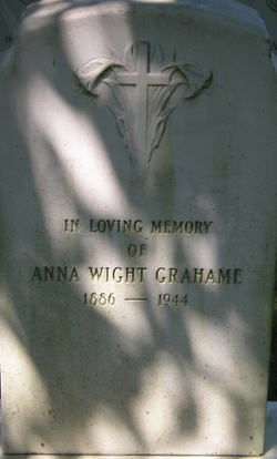 Anna Wight Grahame
