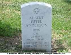 Albert Estel Anderson
