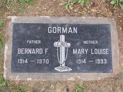 Mary Louise <I>Dierker</I> Gorman
